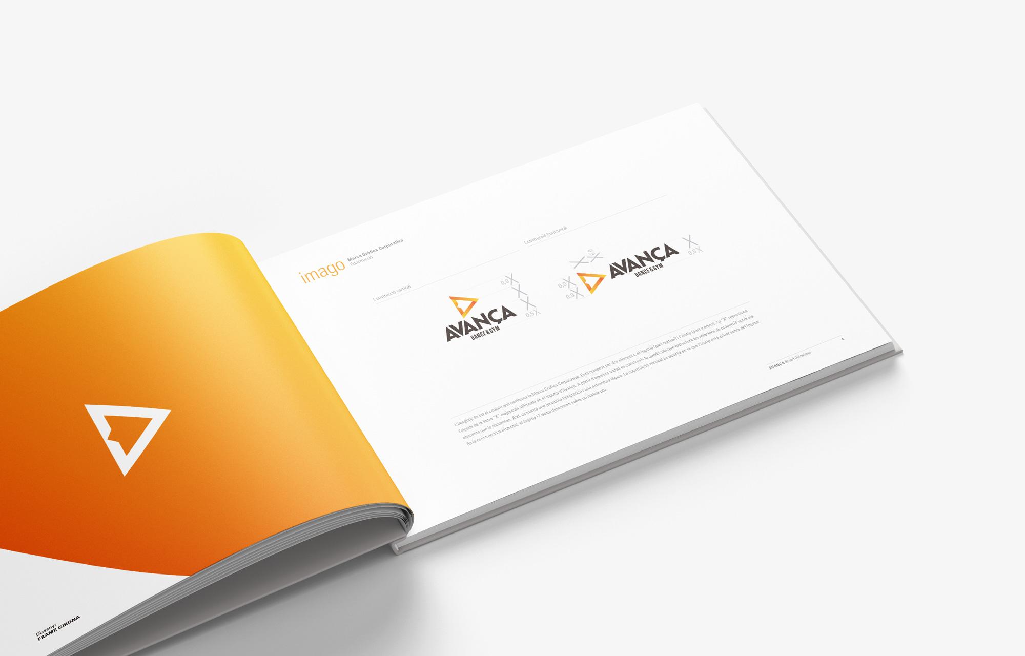 Avança Brand Guidelines - Pàgina Interior