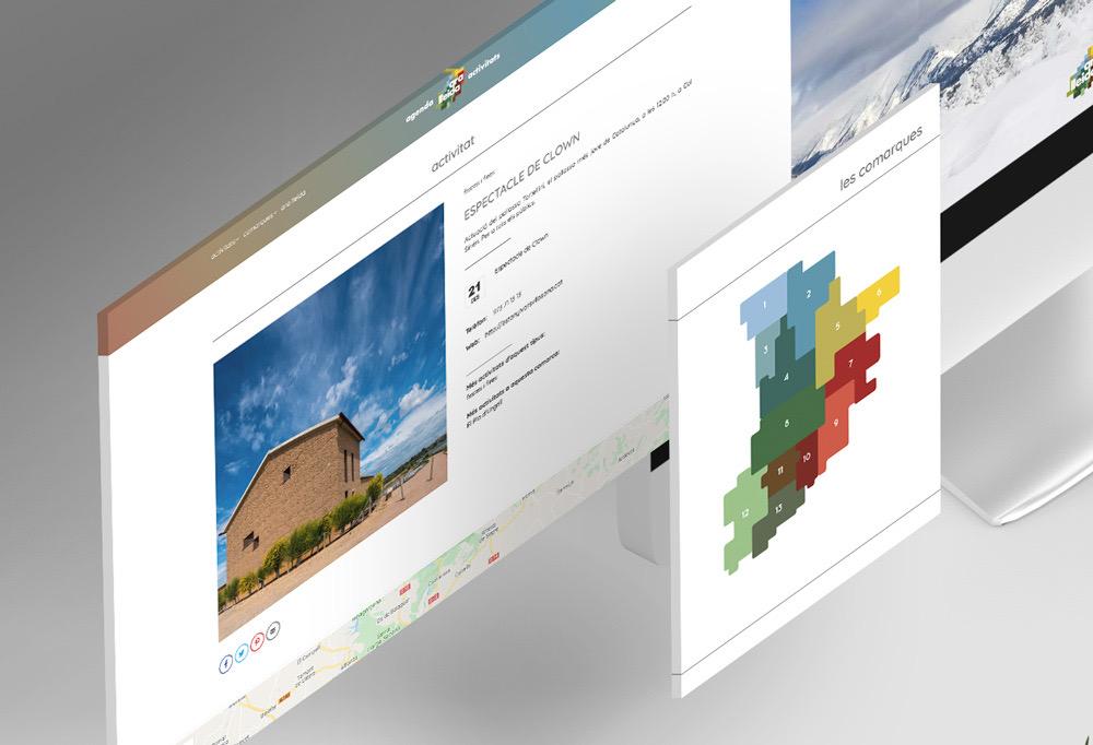 Ara Lleida. Pàgina Web. Dispositius 1.